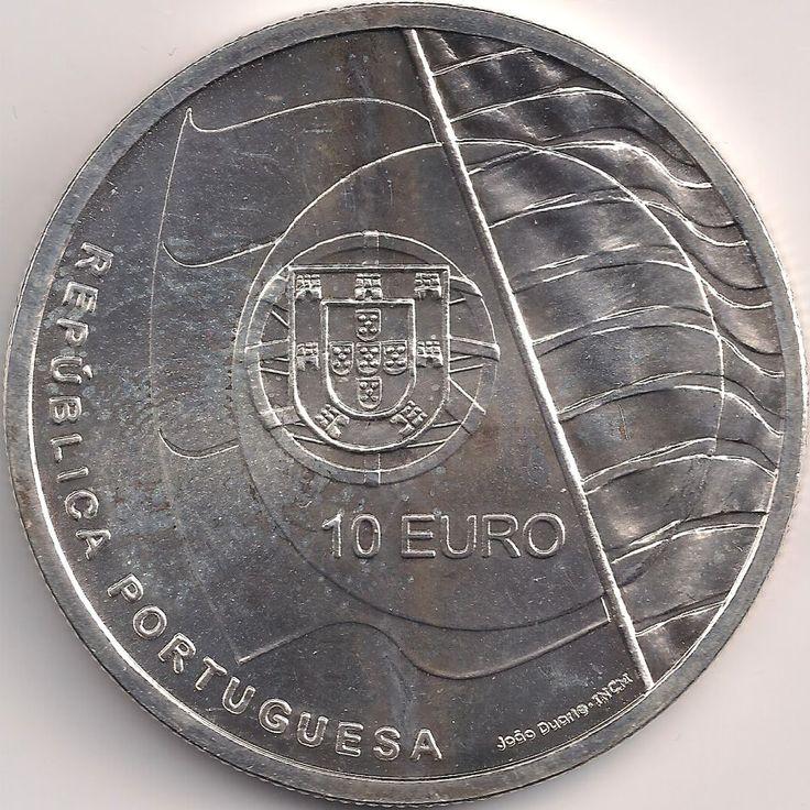 Wertseite: Münze-Europa-Südeuropa-Portugal-Euro-10.00-2007-Cascais