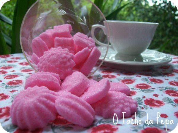 O tacho da Pepa: Torrões de açúcar, mentinhas e cookies, da série : Presentinhos Comestíveis