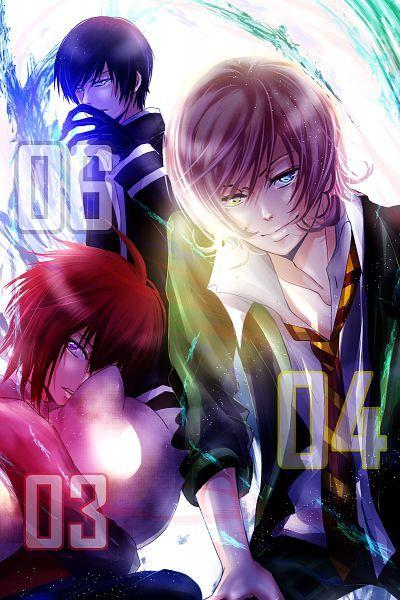 Rei, Toki, And Yuuki - Code breaker