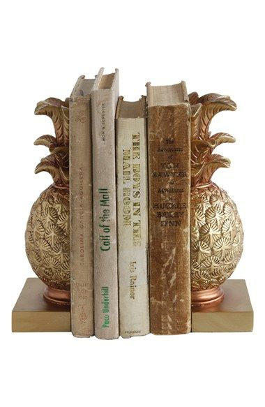 Free shipping and returns on Creative Co-Op Pineapple Bookends at Nordstrom.com. Perfect for book lovers and tropical fruit enthusiasts, these golden-hued bookends in the shape of welcoming pineapples help keep bookshelves neat and organized.
