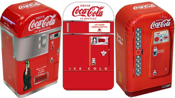 retro coca cola vending machine