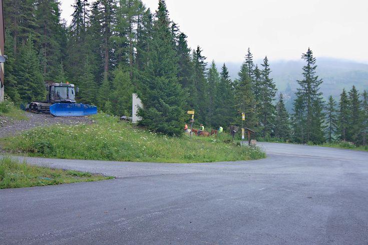 Randonnée à la cabane des Audannes, par le lac de Tseuzier (Zeuzier) et le col des Eaux Froides  Encore un samedi dont la météo est délicate. La pluie finit de passer en matinée et le bulletin météo annonce qu'il fera beau dans l'après-midi au Valais. Je cherche une randonnée, en évitant les sommets et les crêtes (la vue y serait bouchée), j'arrive sur une randonnée (cabane des Audannes, 2009) que j'avais dû raccourcir pour cause de neige…