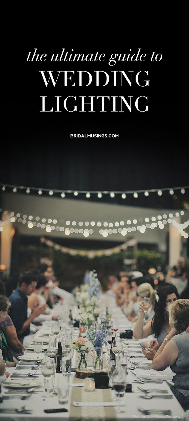 Your Ultimate Guide To Wedding Lighting 25