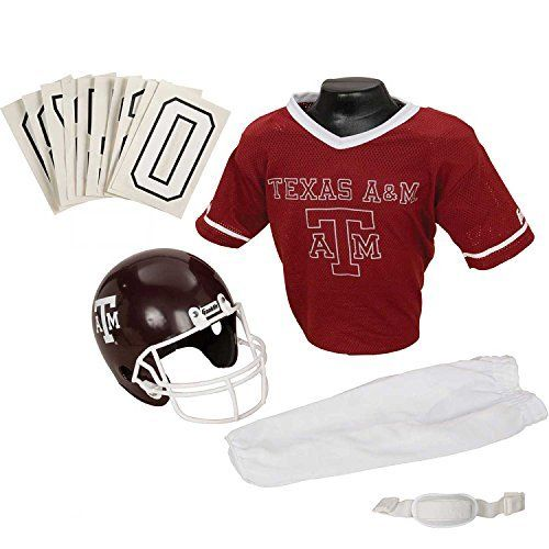 Franklin Sports NCAA Deluxe Youth Team Uniform Set by Franklin. Franklin Sports NCAA Texas A&M Aggies Deluxe Youth Team Uniform Set, Small. Small.