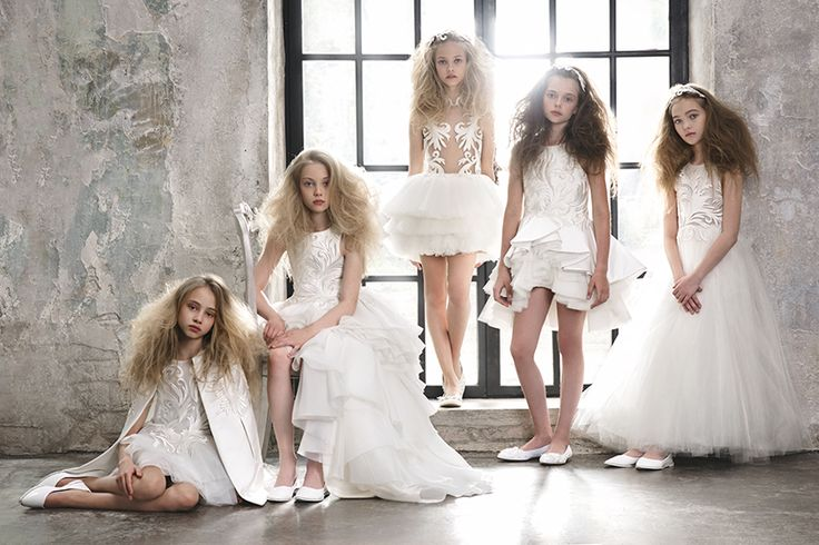 Would be princess girls will love Mischka Aoki dresses for spring 2016