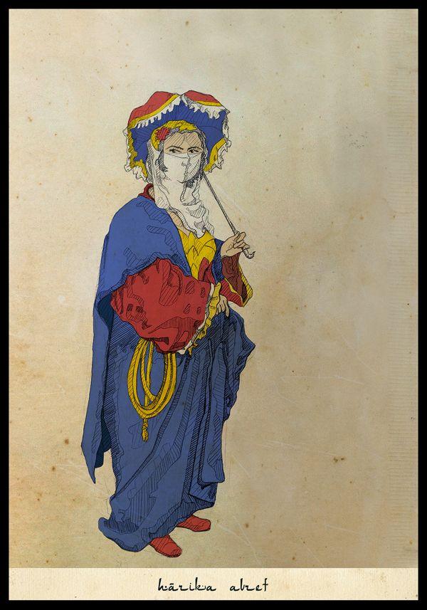 Justice League of the Ottoman Empire /// Wonder Woman as Hârika Avret /// by Ben Senturk