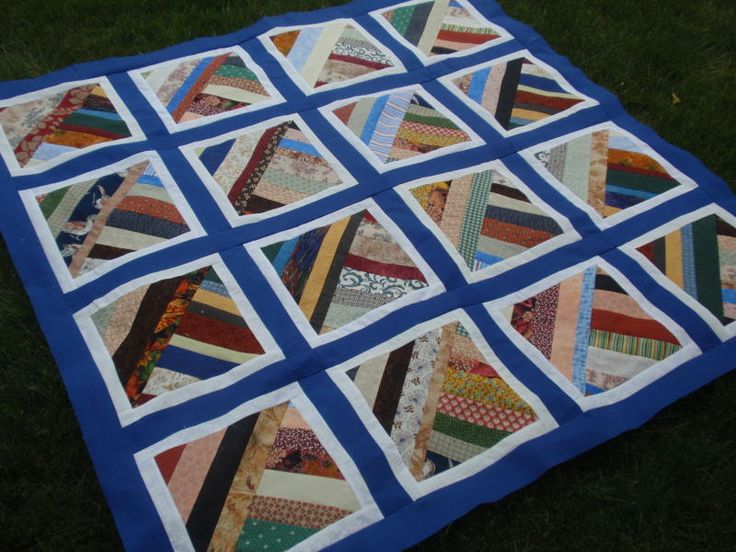 String Twist Modern Quilting Strip Quilt Patterns Free