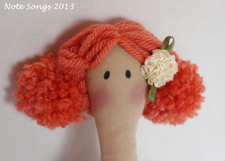 Cute hair for Tilda