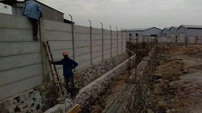 Pabrik Pagar Panel Beton dan Jasa Pemasangan Pagar Panel Beton