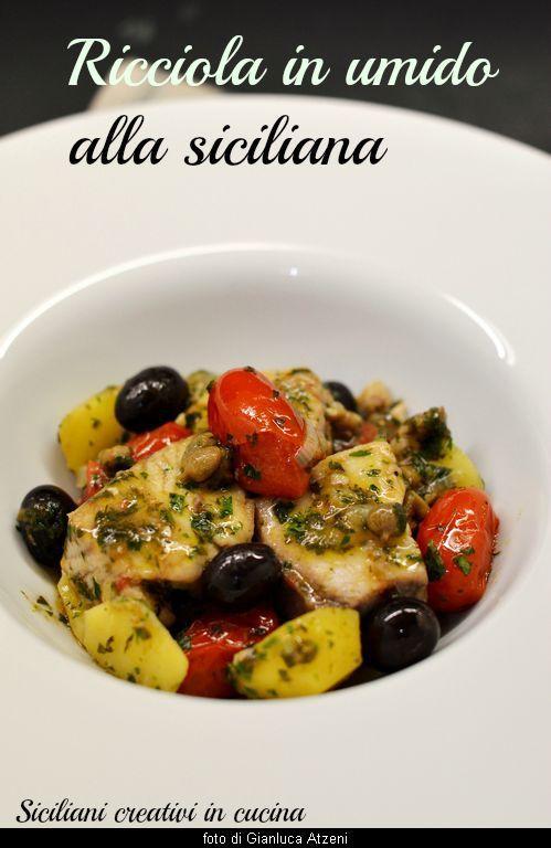 Ricciola in umido, alla siciliana