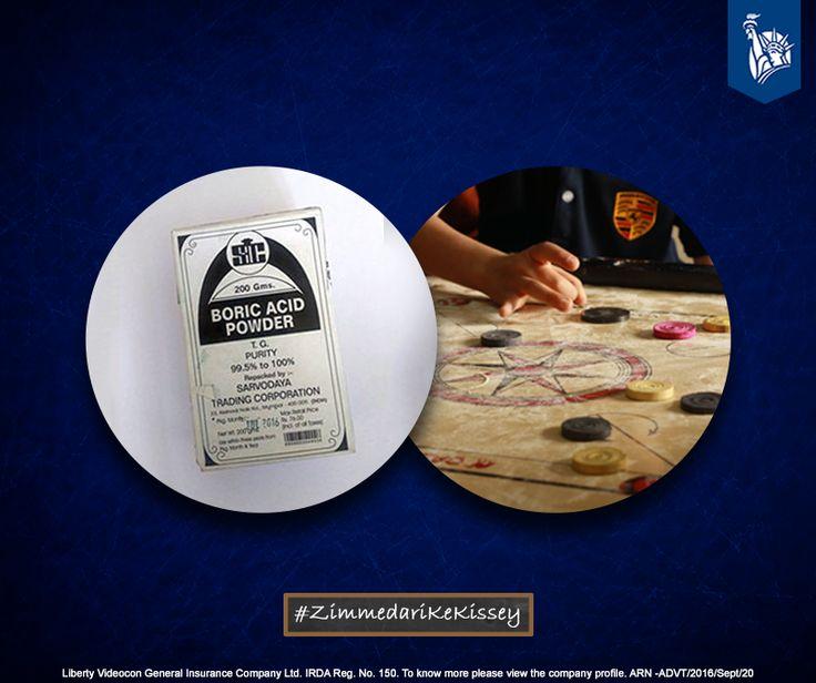Applying boric powder on the carrom board for smooth play was a Zimmedar move.  #ZimmedariKeKissey