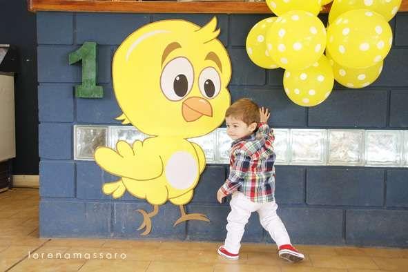 BRUNO 1 POLLITO AMARILLO | CatchMyParty.com