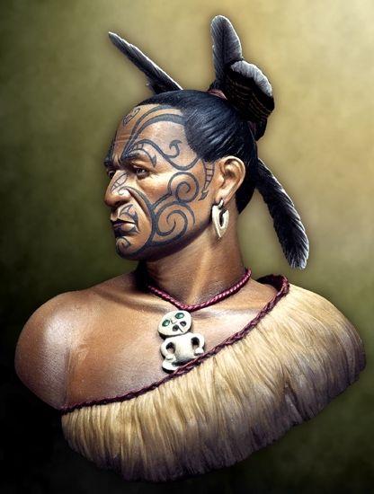 Maori Warrior by Massimo Pasquali
