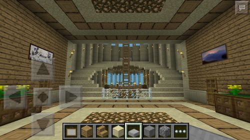 Fancy Minecraft Staircase Here You Can See A View Of The