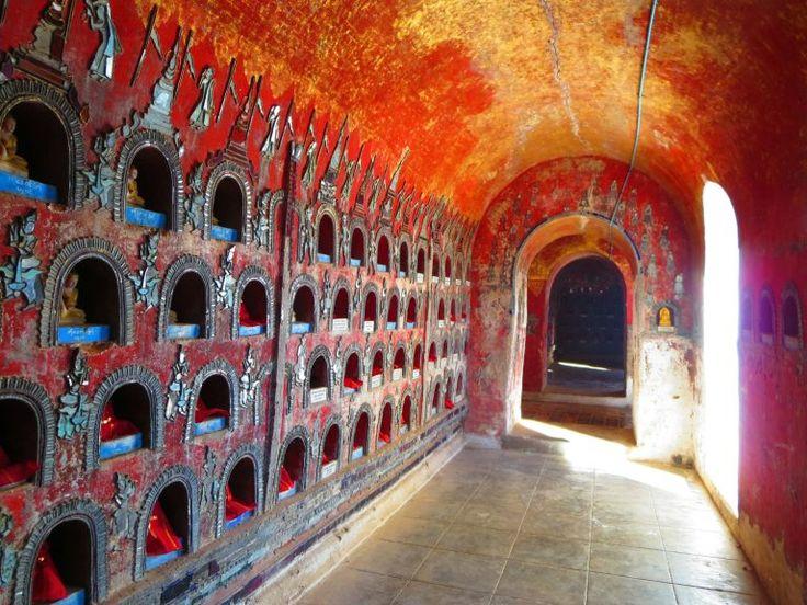 Shwe Yan Pyay Kloster – Von den Stimmen der Mönche erfüllt  Baw Ri That Pagoda, Inle Lake, Myanmar