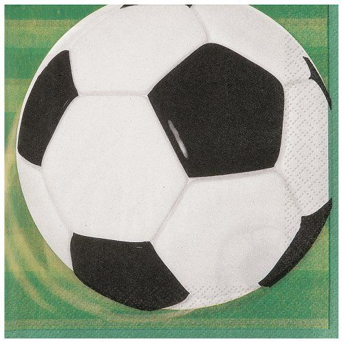 Soccer Party Beverage Napkins 16ct ** Find out more about the great product at the image link.Note:It is affiliate link to Amazon.