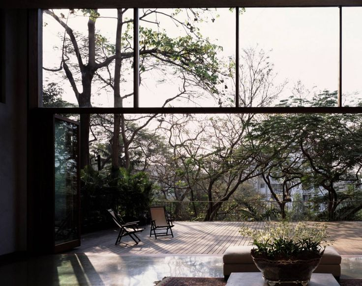 .Living Spaces, Doors Design, Exterior, Indoor Outdoor, Modern Architecture, Pali Hills, Gardens, Studios Mumbai, House