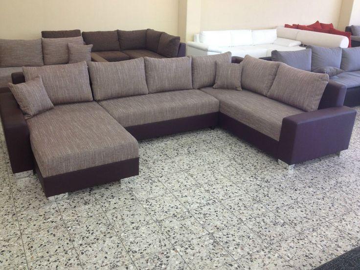 SOFORT AB LAGER NEU  BETTSOFA SchlafCOUCH Sofa COuch Wohnlandschaft Bettfunktion