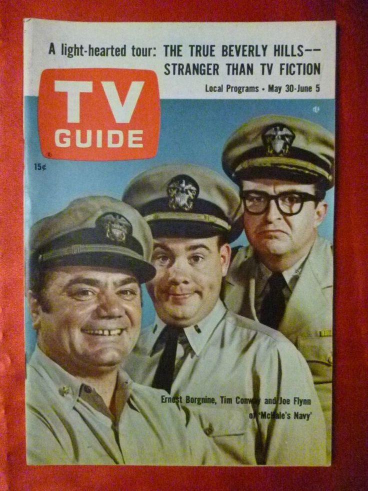 NICE Oregon May 30 1964 TV Guide McHALE'S NAVY