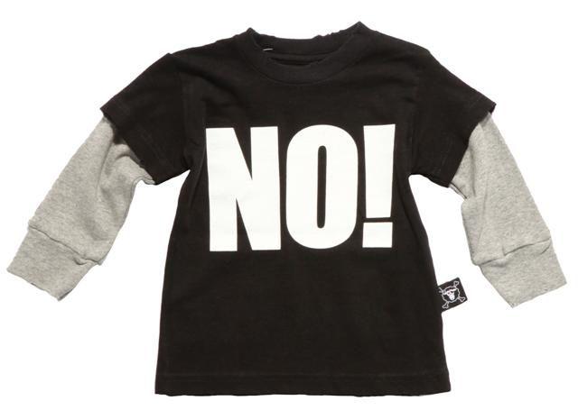 NUNUNU – Black NO Tee