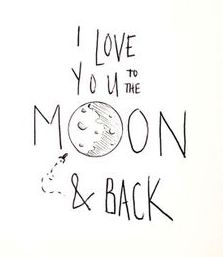 Quote I Love You To The Moon And Back Awesome 63 Best To The Moon And Back Images On Pinterest  La Luna