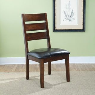 Shop for Signature Design by Ashley Larchmont Dark Brown Dining Upholstered Dining Chair (Set of 2). Get free shipping at Overstock.com - Your Online Furniture Outlet Store! Get 5% in rewards with Club O! - 16132560