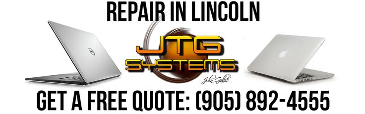 JTG Systems is your #1 for MacBook Pro Repair in Lincoln. We specialize in computer repair and Mac / Apple repair, data recovery and Niagara Computer Repair. Call our office at (905) 892-4555 for one of our professional computer repair technicians to help you with your computer, laptop repair, Mac or other computer problem.