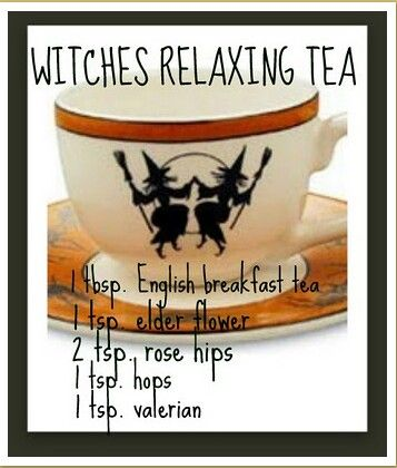 Witches Tea. Personally I wouldn't add the valerian (the part you actually use is the root, and it's very strong and sort of bitter)