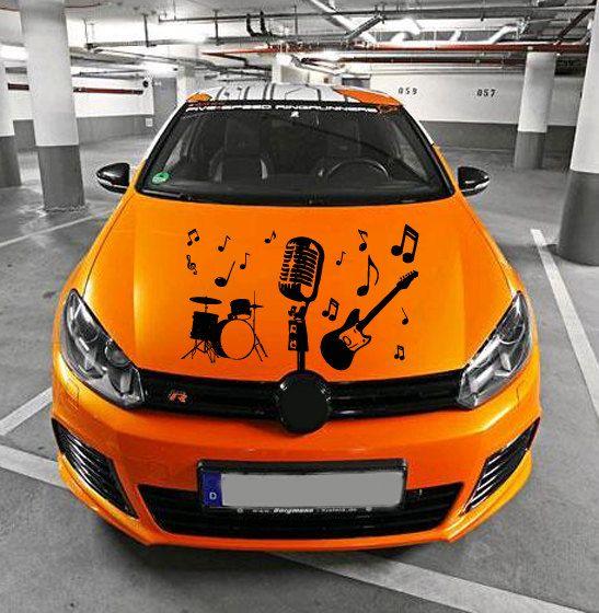 Best Car Hood Sticker Images On Pinterest - Unique car decals