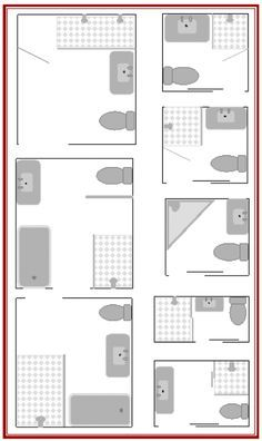 Here are 8 small bathroom plans to maximize your small bathroom layouts as well …
