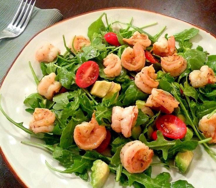 Spicy Shrimp and Avocado Salad   Good Eats   Pinterest
