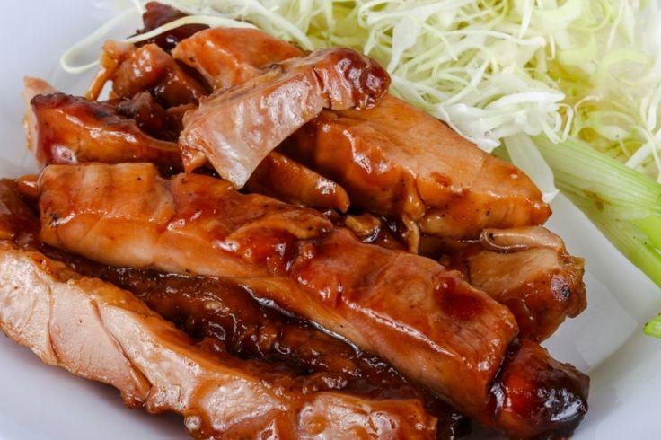 Cuisinez votre poulet à la teriyaki, c'est tellement bon !