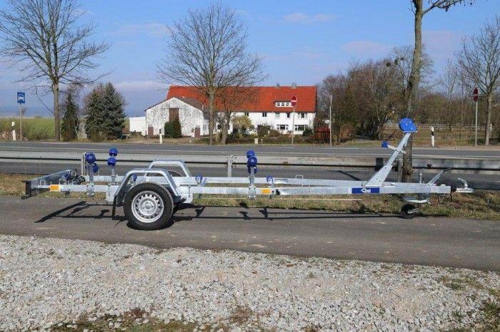 Bootsanhänger 750 kg für Boote bis 5 m Typ P750H - Anhänger, Elektrofahrzeug und Aufbauten - PKW Anhänger Hersteller Blyss