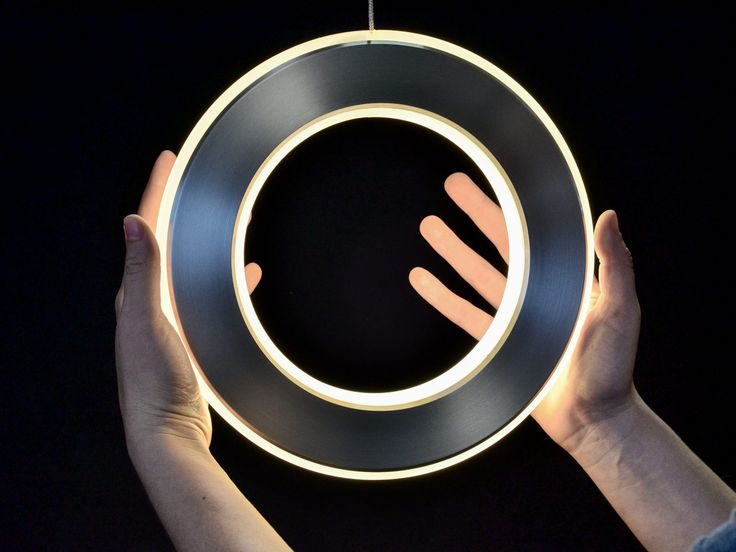 Custom Light Design by Karice - Electron pendant silver