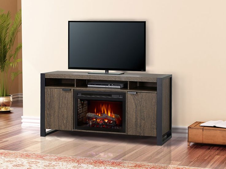 Pierre Electric Fireplace Entertainment Center in Elm ...