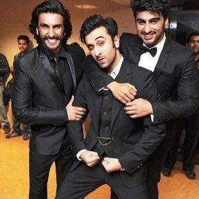 Ranbir Kapoor, Ranveer Singh and Arjun Kapoor