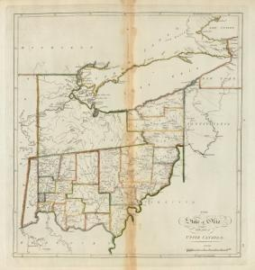 The State Of Ohio With Part Of Uppercanada 1814