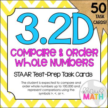 NEWLY UPDATED (February 2018) now with 50 STAAR test prep task cards! AND GROWING!
