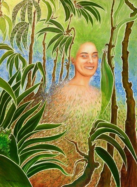 Fotografias de mis pinturas y dibujos realizadas en Oleo, Acrílico y otras técnicas. Isla de Pascua. Rapa Nui.