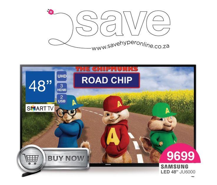 Get the #Samsung UA48J6000 Smart 4K UHD TV on sale @  http://goo.gl/fJBvz9
