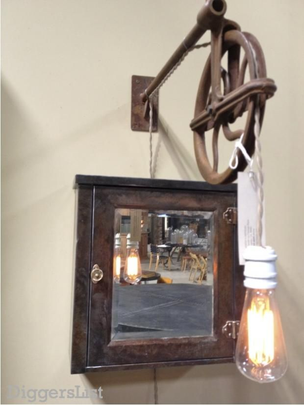 32 totally cool steampunk light fixtures this one in for Steampunk furniture diy