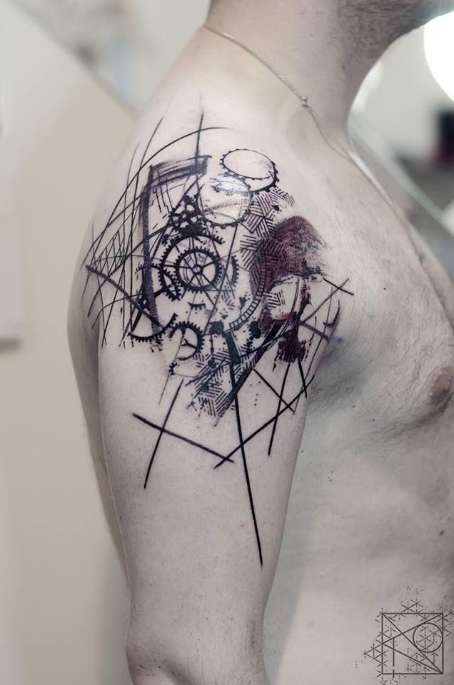 Abstract Tattoo Panosundaki Pin