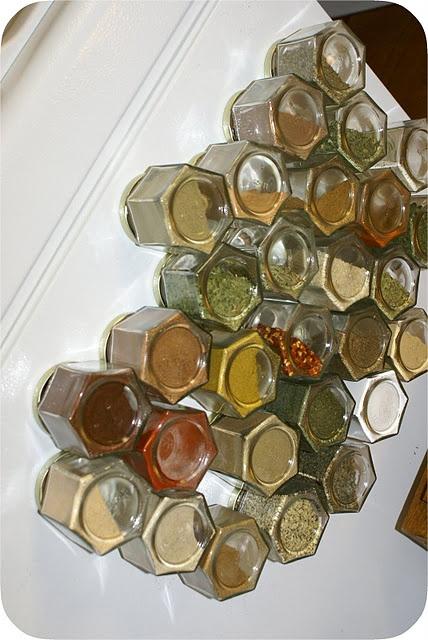 frascos magneticos para pegar a la heladera