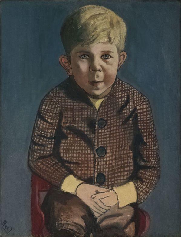 Alice Neel (US 1900-1984), Meadman's Son, oil/canvas, 1949. Xavier Hufkens Gallery, Brussels, Belgium.