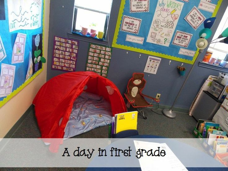 woodland classroom theme | Reading in the tents is now our new favorite activity.