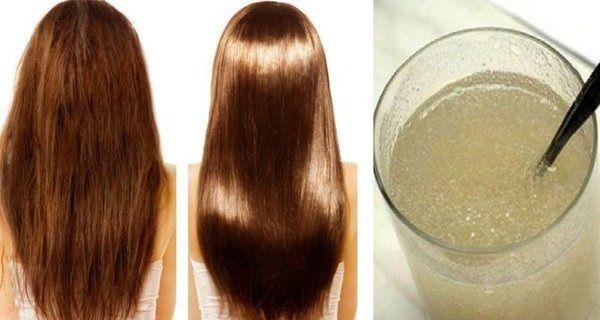 Beaucoup de femmes luttent avec des cheveux secs, ternes et abîmés. Donc, si vous cherchez de façon simple, rapide et efficace pour renforcer vos cheveux et de fixer vos pointes fourchues, cette recette naturelle est