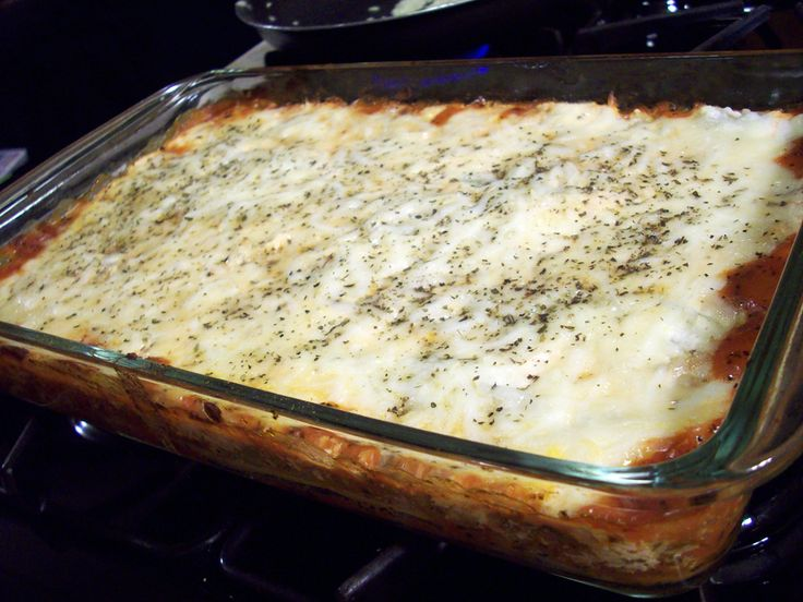 Lean Beef and Turkey Sausage Zucchini Lasagna (Medifast Recipe)