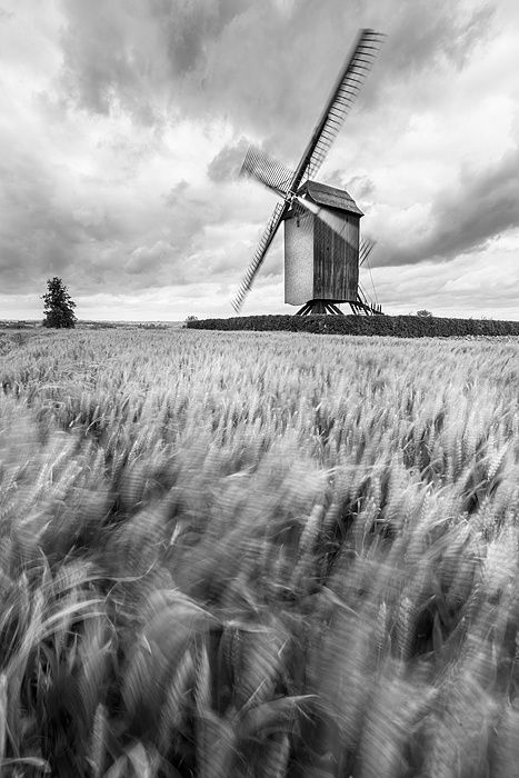 Windy mill - Mater, Belgium