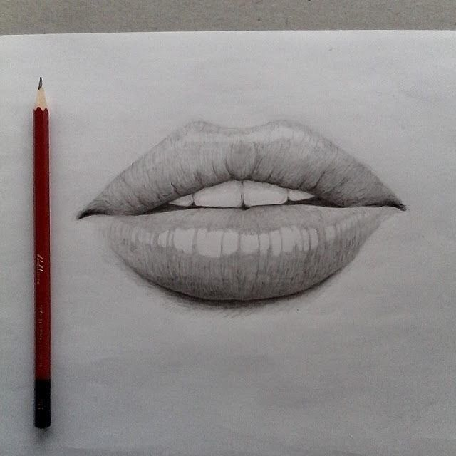20+ Amazing Lip Drawing Ideas & Inspiration