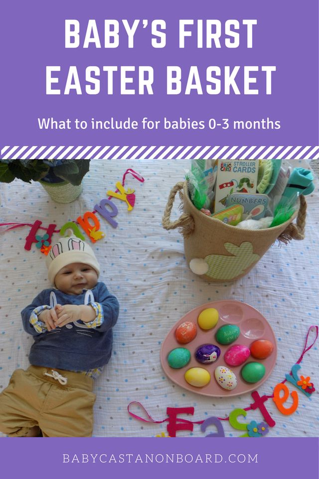 The 25 best baby easter basket ideas on pinterest easter aidens first easter basket negle Gallery